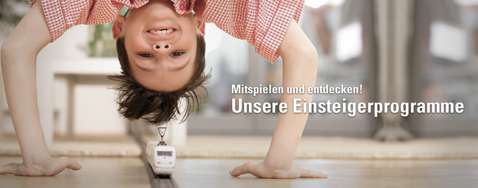 Unsere Einsteigerprogramme