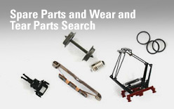 Spare Parts and Wear and Tear Parts Search