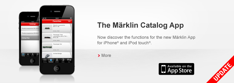 The Märklin Catalog App